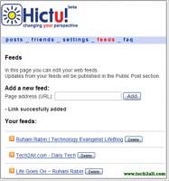 hictu feeds